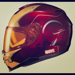 Motorcycle helmet size large